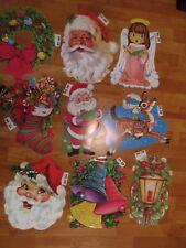 Vintage Decorations Christmas Diecuts Cutouts HMS #501 to #517  U Pick NOT a LOT
