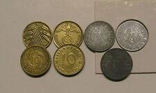 10pf MONETE PFENNIG 1924-1948 a 1996 BRD circolazione circola per la selezione adefgj