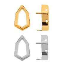 Genuine SWAROVSKI Fancy Stones Settings Fits to 4707 Slim Trilliant Crystals