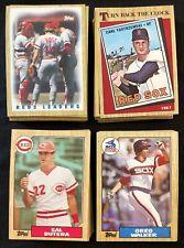 1987 Topps Baseball Cards (#200-399) Lot You Pick