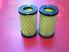 2 Tecumseh Craftsman Edger Lawnmower Air Filter replacements - 35066  :
