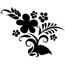 Sticker Décoration Nature Fleur Ornement (20x26 cm à 30x38 cm)