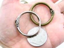 metal split open Key rings key ring accessories quality small open key rings