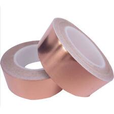 30M Adhesive Conductive Copper Foil Slug Tape Repellent Guitar Pickup EMI Shield