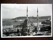 Turkey~Istanbul~1950&#039 ;s Sarayburnu~ Ship~Rppc