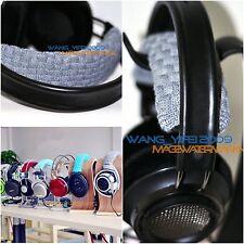 Hand Knit Pure Wool Headband Cushion For Philips Fidelio X1 X2 HiFi Headphones