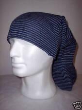 Cappello Tubolare Righine BLU-AVIO 100% Lana Merinos