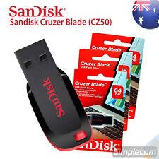 SanDisk Cruzer Blade 4GB 8GB 16GB 32GB 64GB 128GB USB Flash Pen Drive CZ50