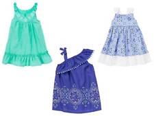 NEW NWT Gymboree Safari Smiles Aqua Embroidered Sparkle Ruffle Dress 2T 3T 4T 5T