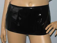 Nouveau Sexy Extra Court PVC noir mini jupe micro toutes tailles livraison gratuite au royaume-uni.