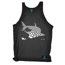 Pez Tiburón Diver-Buzo Máscara Gracioso Regalo De Cumpleaños Camiseta Belle Chaleco Camiseta Top