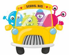 Monster Schulbus Aufkleber Sticker Autoaufkleber Scheibenaufkleber