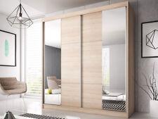 Kleiderschrank Multi 36 Schiebetürenschrank Garderobe mit Spiegel 233 cm Schrank