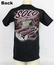 Solo Speed Shop 53 Kustom Hot Rod Custom Pinstripe Tiki Muscle US Car T-shirt
