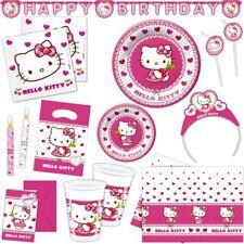 Hello Kitty Festa di Compleanno bambino Party Kiderparty Set Decorativo SCELTA
