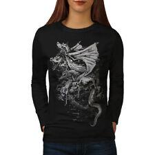 Dragon Gang Mob Crew Women Long Sleeve T-shirt NEW | Wellcoda