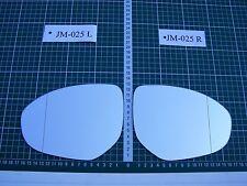 Außenspiegel Spiegelglas Ersatzglas Mazda 3 Typ BL ab 2009 Li oder Re asph