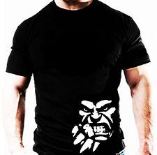 Hulk T Shirt beastmode Casual Gym Culturismo formación Wear Entrenamiento Ropa Top