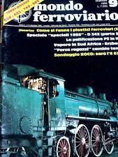 Mondo Ferroviario 9 Speciale Locomotive D 342 - Poster Loco 940-625-740-685