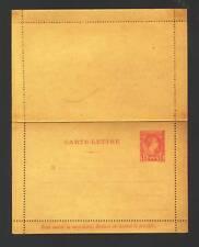 MONACO LETTER CARD --- HG #A1 - 1886 - MINT