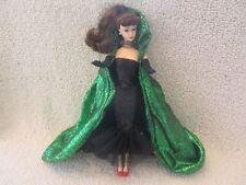 Barbie 1995 Original Outfit (Black Dress + Shoes + Gloves + Cape)
