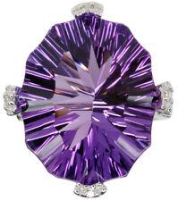Amethyst Gemstone Dazzling Sterling Silver Ring