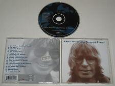 JOHN DENVER/LOVE CHANSONS & POÉSIE (CAMDEN 74321 628042) CD ALBUM