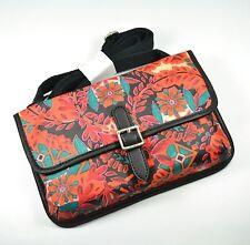 FOSSIL Keyper Mini Cross-body Bag Floral Coated Canvas Multi-color