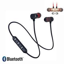 Wireless Bluetooth 4.2 Headset Headphones Earphone Sport Magnetic Stereo Earbuds