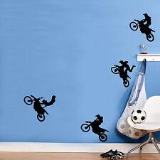 Cascade bikers Autocollant Mural Chambre à coucher pour enfants