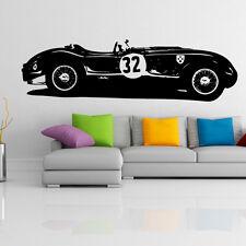 Jaguar Tipo C Adesivo da parete in vinile Decorazione per camera bambini GARAGE