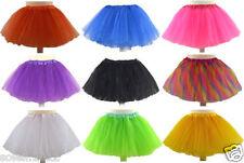 Tütü Sterne Uni Tüllrock Petticoat Ballett Tutu Ballettrock Kinder 92bis176Rock