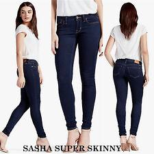 Lucky Brand,Women's Jeans,SASHA SUPER SKINNY.MidRise,CURVY Fit,Contoured Waist