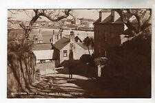 Hugh Town St Marys Photo Postcard Circa 1920