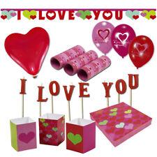 Valentinstag Party Deko Herz Hochzeit Raumdeko Tischdeko Liebe Love Dekoration