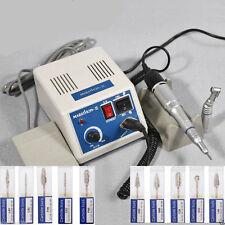 Dental Lab Marathon Polisher micromotor N3 &Contra Angolo & Straight & 10*Drills