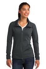 LST852 Sport-Tek Womens Coat Sport-Wick Stretch Full-Zip Jacket NEW