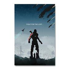 Mass Effect 2 3 4 Game Wall Art Silk Fabric Poster Canvas Print 12x18 24x36 inch