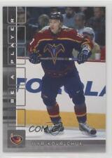 2001-02 In the Game Be A Player Memorabilia 372 Ilya Kovalchuk Atlanta Thrashers