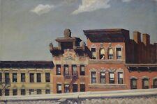 Edward Hopper-da Williamsburg PONTE regalo poster stampa