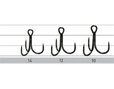 Owner STBL36BC / Drillingshaken barbless treble hooks / sizes: #14 - #10
