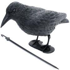 1 bis 15 Taubenschreck Krähe Rabe Taubenabwehr Vogelschreck Lockvogel Wetterfest
