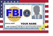 USA ID COLLECTOR CARDS <<FBI>>