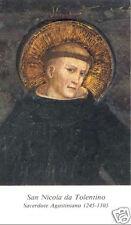 SANTINO HOLY CARD SAN NICOLA DA TOLENTINO