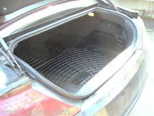 Peugeot 607 Saloon anti slip rubber boot mat liner options & bumper protector