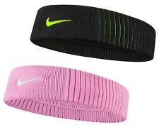 Nike Dri-Fit Reveal Head Band Tennis Training Sweatband Sports Running Gym NK412