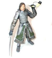 "Tolkien Hobbit Lord of the Rings 6"" BOROMIR Captain of Gondor figure RARE"