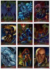 1995 Fleer Ultra Marvel X-Men Chrome Chromium Base Card You Pick Finish Your Set