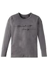 Schiesser Filles Shirt à Manches Longues Mix & Relax S M L 152 164 176 100%