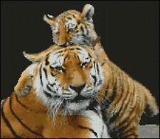 "Tigre Siberiano 10 puntada cruzada contada Kit de 12 ""x 10.5"""